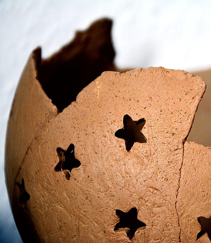 Keramik vor dem 1. Brennendurchgang